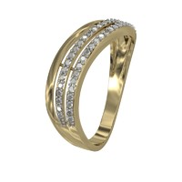jeweler ring diamond 3ds