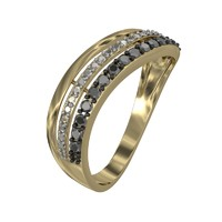 jeweler ring diamond 2 3d 3ds