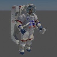 rig nasa apollo space suit max