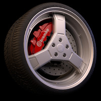 3ds max wheel brakes tyre