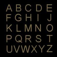 alphabet letter 3d model