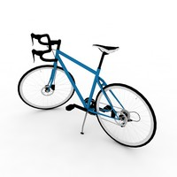 3d bicycle polygons