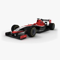 3d model marussia mr03