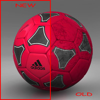 ball soccer black 3d model