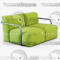 3d sofa bubbly roberto sartorio