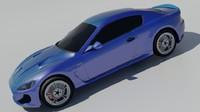2015 maserati gran 3d model