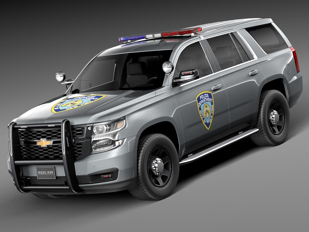 2015 chevrolet nypd 3d model