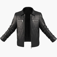 3d man jacket