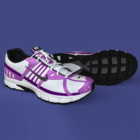 3d model realistic sport shoes