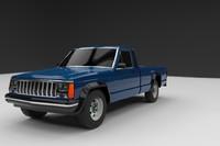 3d model jeep grand cherokee 1994