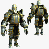 3ds max knight series