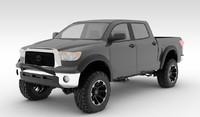 2012 toyota tundra truck 3d model