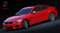 3d bmw m4 coupe sport model