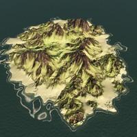 max island mountain