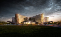 modular grand theatre 3d model