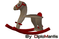 3ds rocking horse