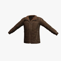 kuhl burr jacket 3d model