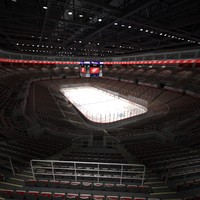 3d joe louis hockey arena model