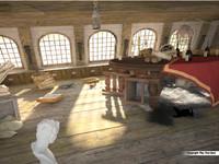 3dsmax cabin captain s pirate ship