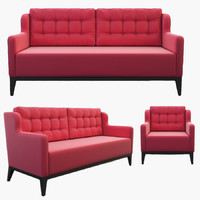3d charlotte sofa