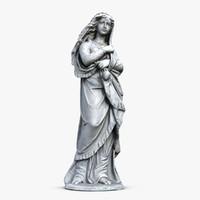 3dsmax woman sculpture 5