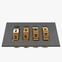 3ds max code lock