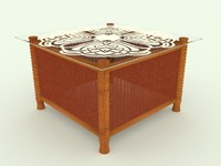 Table wicker