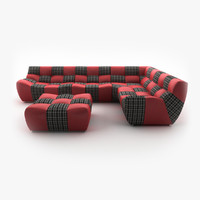 new look bronx corner sofa 3d max