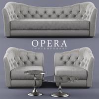 3d sofa opera
