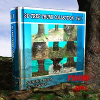 tree trunk - vol 1 3ds