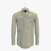 3d stripe grey shirt hanger