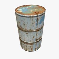 3d model barrel -