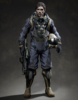 Spaceman soldier