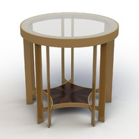 3d model table acadia legacy