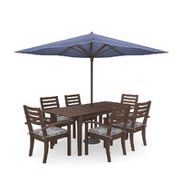 3d model outdoor furniture table chairs