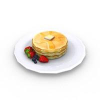 pancakes obj