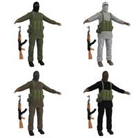 pack taliban 3d max