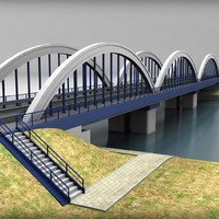 3ds arch bridge