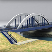 arch bridge 3d 3ds