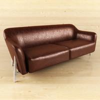 3d sofa meridiani