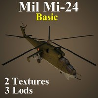 3d mil basic helicopter