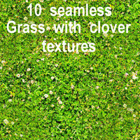 Grass with Clover Collection 2