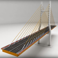 suspended bridge 3ds