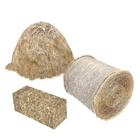 hay bale stack 3d max