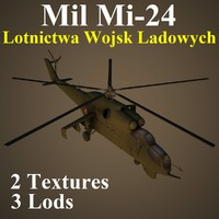 mil lwl helicopter 3d model