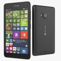 microsoft lumia 535 smartphone 3d max