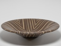 3d model of wooden bowl