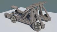 maya medieval catapult