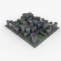 downtown games city 3d 3ds