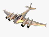 maya silver futuristic plane games